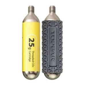 Wypełnienie Topeak CO2 25g -2ks z rękawkem TCO25-3