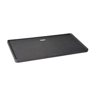 żeliwny płyta do smażenia GrandHall dla Xenon, Argon, IT-Grill 38,7x18,5cm, Grandhall