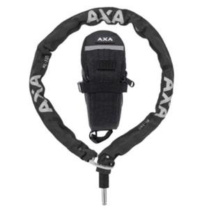 Zamek plugin łańcuch RLC 100/5,5 czarny + pod siedziskowa torba 59551195SC, AXA