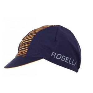 Sportowe czapka z daszkiem Rogelli RITMO, niebieski i pomarańczowy 009.951., Rogelli