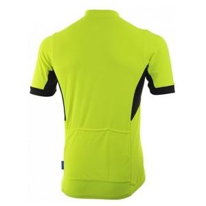 koszulka rowerowa Rogelli PERUGIA 2.0 z swobodniejszy cięciemm, odblaskowy żółty 001.006., Rogelli