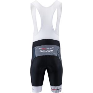 Męskie rowerowe spodnie Silvini Team Top MP1406 black-red, Silvini