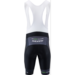Męskie rowerowe spodnie Silvini Team Top MP1406 black-green, Silvini