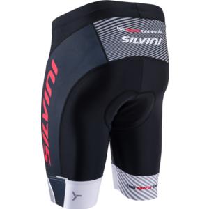 Męskie rowerowe szorty Silvini Team MP1407 black-red, Silvini