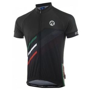 Męski koszulka rowerowa Rogelli TEAM 2.0 czarny 001.969., Rogelli