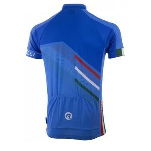 Męski koszulka rowerowa Rogelli TEAM 2.0 niebieski 001.970., Rogelli
