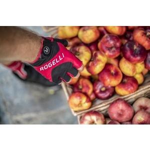 Rowerowe rękawice Rogelli ARIOS, czerwone 006.002., Rogelli
