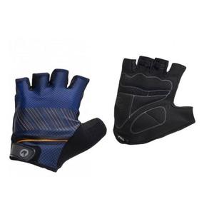 Rękawice do rower Rogelli RITMO, niebiesko-pomarańczowa 006.402., Rogelli