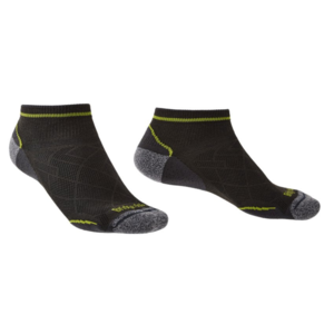 Skarpety Bridgedale Hike Ultralight T2 Coolmax Performance Low graphite/lime/140, bridgedale