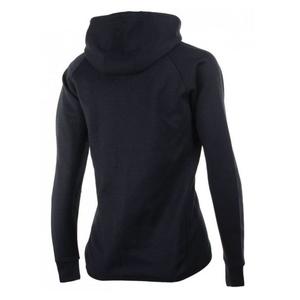 kobiety funkcjonalne bluza Rogelli TRAINING z kapturem, czarny 050.610., Rogelli