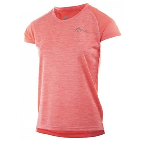 Damskie funkcjonalne koszulka Rogelli JOY, różowy podkreśla, Rogelli