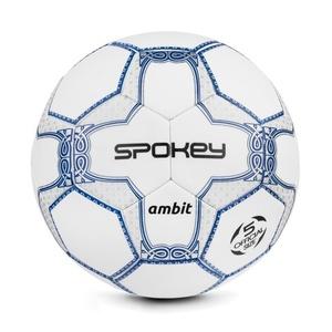 Spokey AMBIT piłka nożna piłka biało-srebrny rozmiar. 5