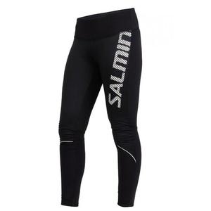 do biegania spodnie Salming Thermal Wind Tights Women Black, Salming