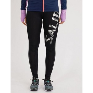 legginsy Salming Logo Tights 2.0 Women Black/Silver Reflective, Salming