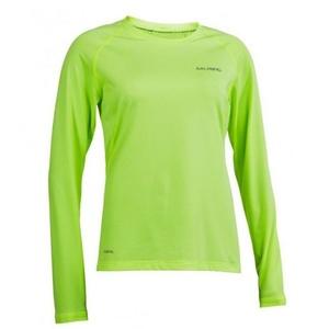 Damskie koszulka Salming Balance LS Tee Women Sharp Lime, Salming