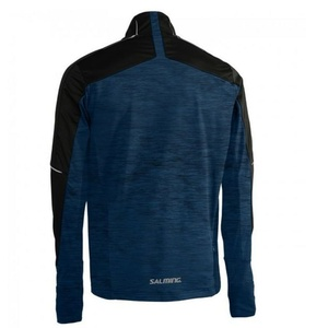 Kurtka Salming Thermal Wind Jacket Men Black/Blue Melange, Salming