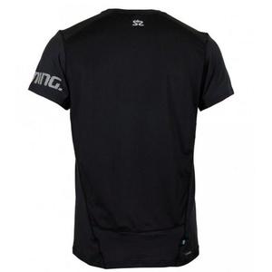 Męskie koszulka Salming Laser Tee Men Black, Salming