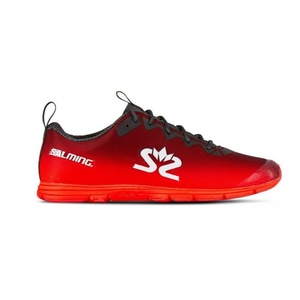 Buty Salming Race 7 Women Forged iron/Poppy Red, Salming