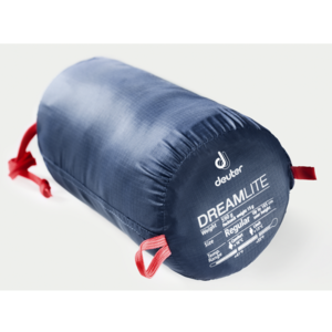 Śpiwór Deuter Dreamlite Long Granatowo-żurawinowy, Deuter