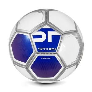 Spokey MERCURY Futbolowa piłka rozmiar. 5 biały-niebieski
