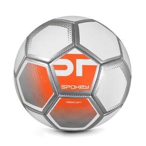 Spokey MERCURY Futbolowa piłka rozmiar. 5 biało-pomarańczowy, Spokey