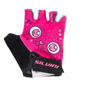 Dziecięce cyklo rękawice Silvini Punta CA1438 pink, Silvini