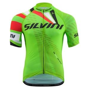 Męski rowerowy bluza Silvini TEAM MD1400 green, Silvini