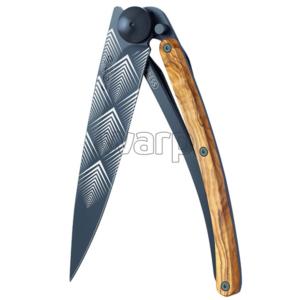 Kieszonkowy nóż Deejo 3GB105 Giant black Art Déco, Deejo