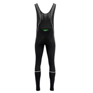Męskie elastyczne spodnie Silvini MOVENZA MP1320 black green, Silvini