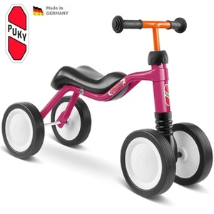 czterokołowy rowerek WUTSCH PUKY różowa 3022, Puky