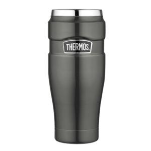 Wodoodporny termo kubek Thermos Style metaliczny siwy 160025, Thermos
