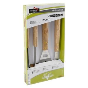 do grilowania narzędzia Cattara WOOD zestaw 3ks, Cattara