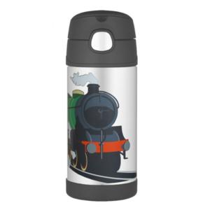 Dziecięca termos z słoma Thermos Funtainer pociąg, Thermos