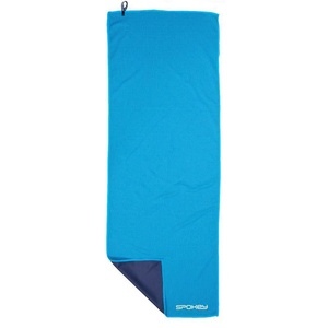 chłodzący szybkoschnący ręcznik Spokey COOLER 31x84 cm, zielony błękit w plastic bag, Spokey