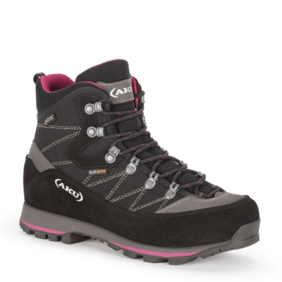 Damskie buty AKU Trekker Lite III GTX czarny / purpurowy, AKU