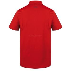 Męskie koszulka Husky Teril M czerwona, Husky
