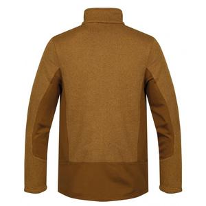 Męski fleece sweter Husky Alan M ciemnia/musztarda, Husky