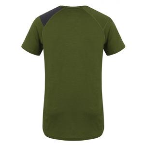 Męskie merynos koszulka Husky Sheep khaki, Husky