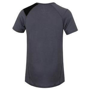Męskie merynos koszulka Husky Wolf siwy, Husky