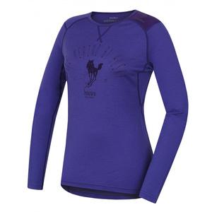 Damskie merynos koszulka Husky Sheep szarawy fiolet, Husky