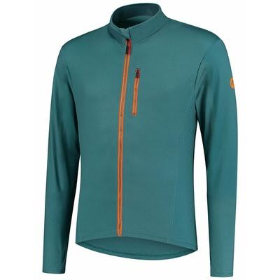 Męska do biegania bluza Rogelli ISTOTA, turkusowo-pomarańczowy 830.828, Rogelli