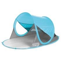 Spokey STRATUS Samorozkładalny plażowy parawan UV 40 190x120x90cm jasno niebieski, Spokey