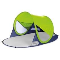 Samorozkładalny plażowy parawan Spokey STRATUS UV 40 190x120x90 cm limonka, Spokey