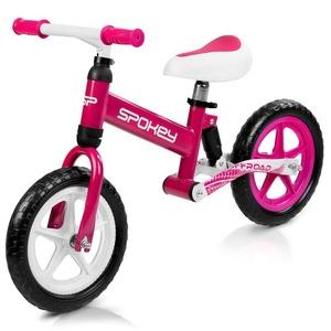 Dziecięce  rowerek bez pedałów Spokey OFF-ROAD biało-różowy, Spokey