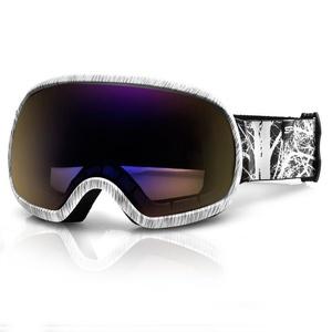 Spokey PARK narciarskie okulary szary i biały, Spokey
