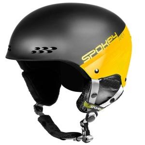Narciarska kask Spokey APEX czarno-żółty rozmiar. L/XL