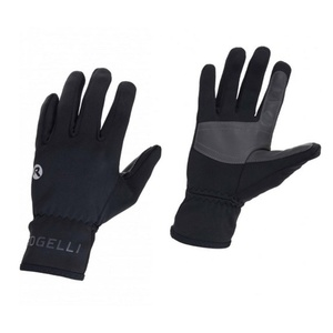 Rękawice Rogelli QLIMATE czarne 006.129, Rogelli