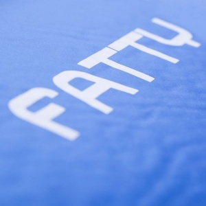 Spokey FATTY Samodmuchający karimata 5 cm, ciemno niebieska, Spokey
