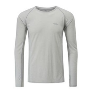 Męskie koszulka Rab Merino+120 dark miraż, Rab