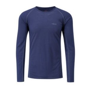 Męskie koszulka Rab Merino+120 zmierzch, Rab